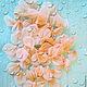 Капроновые двухслойные лепестки ручной работы. Цветочный декор. Ирина Иванова. Ярмарка Мастеров.  Фото №5
