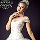 Корсеты ручной работы. Ярмарка Мастеров - ручная работа. Купить Утягивающий корсет «Белая лилия» с лямками  кружевной свадебный. Handmade.