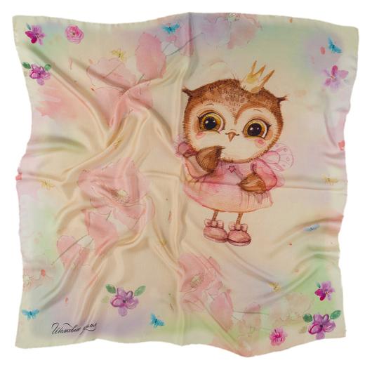 Платок Silk Wings `Совушка-принцесса`