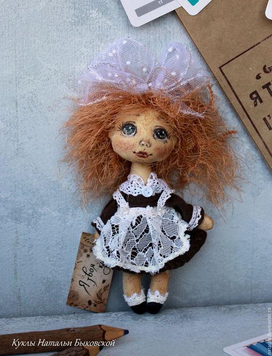 Коллекционные куклы ручной работы. Ярмарка Мастеров - ручная работа. Купить Малявка, которая боялась идти в школу..... Handmade. Комбинированный
