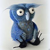 """Куклы и игрушки ручной работы. Ярмарка Мастеров - ручная работа Валяная игрушка """"Сова"""", а кому и """"Совушка"""". Handmade."""