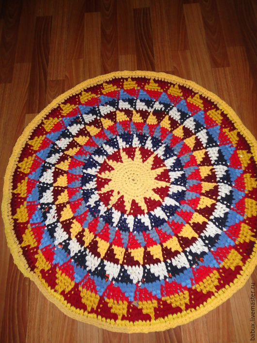 """Текстиль, ковры ручной работы. Ярмарка Мастеров - ручная работа. Купить Коврик """"Вспоминая Египет"""". Handmade. Разноцветный, отдых"""