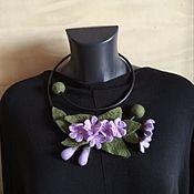 Украшения handmade. Livemaster - original item Necklace felted