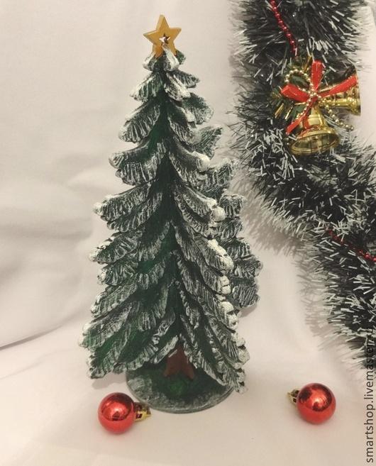 Новый год 2017 ручной работы. Ярмарка Мастеров - ручная работа. Купить Елочка интерьерная. Handmade. Зеленый, золотой, елочка