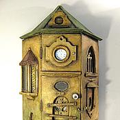 Настенный подвесной шкафчик-дом