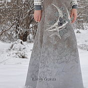"Одежда ручной работы. Ярмарка Мастеров - ручная работа Валяная юбка ""Винтаж"". Handmade."