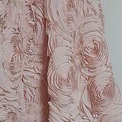 Материалы для творчества ручной работы. Ярмарка Мастеров - ручная работа 46 Объемная ткань. Handmade.