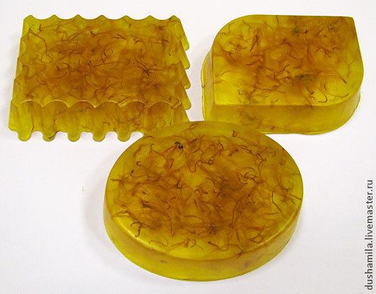 Мыло ручной работы. Ярмарка Мастеров - ручная работа. Купить Мыло Янтарное. Handmade. Оранжевый, мыло для бани, солнечное