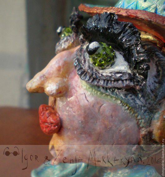 Статуэтки ручной работы. Ярмарка Мастеров - ручная работа. Купить ЛОНДОН ЧМЫНДРИК. Handmade. Комбинированный, уникальный подарок