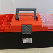 Материалы для творчества ручной работы. Ярмарка Мастеров - ручная работа Ящик для инструмента 420х220х180 мм. Handmade.