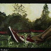 Картины и панно ручной работы. Ярмарка Мастеров - ручная работа майско-похмельное утро. Handmade.