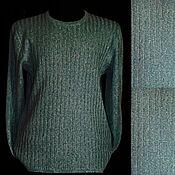Мужская одежда handmade. Livemaster - original item Men`s jumper made of tweed linen