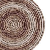 Аксессуары ручной работы. Ярмарка Мастеров - ручная работа Колье из шнуров Lasso Cacao шарф бусы трансформер. Handmade.