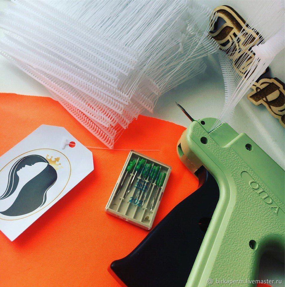 Пистолет для прикрепления бирочек к изделиям, Атрибутика, Пермь,  Фото №1