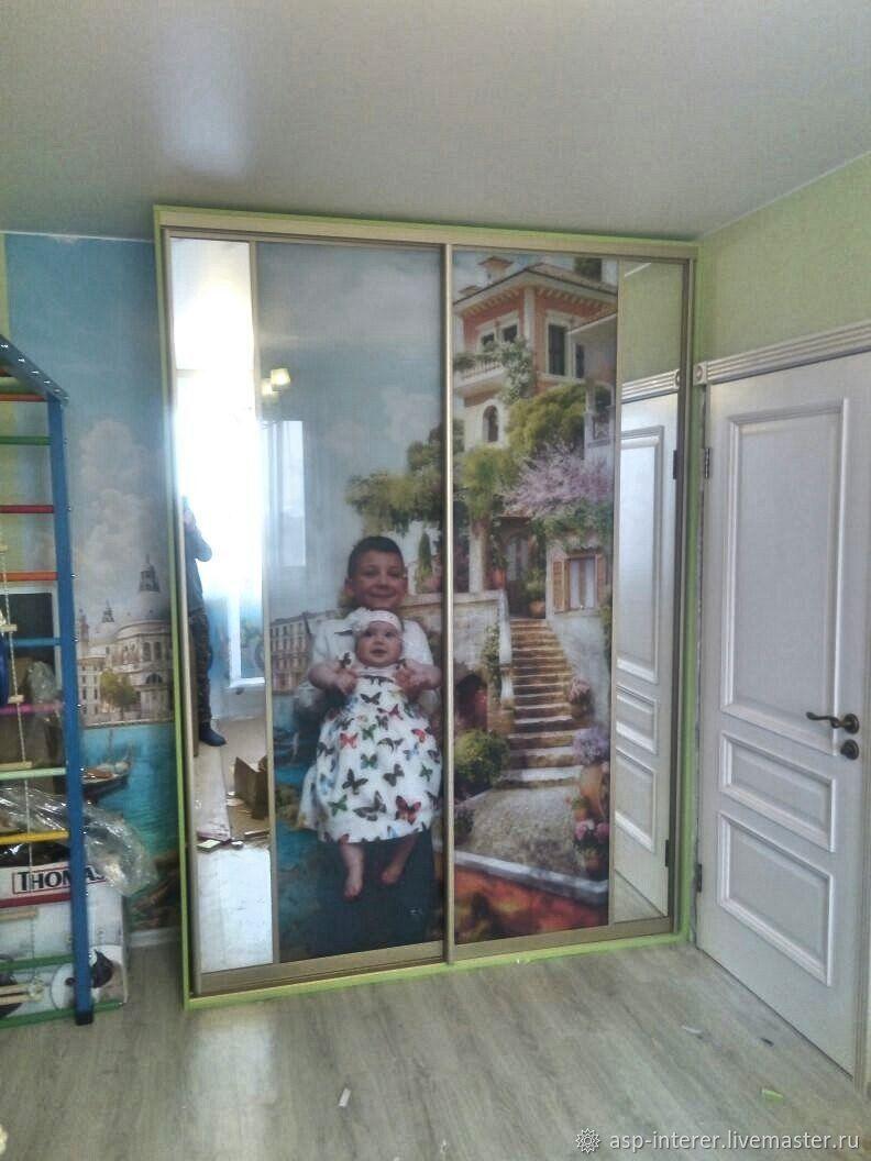 Шкаф-купе фотопечать – заказать на Ярмарке Мастеров – J47YVRU | Шкафы, Москва