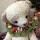Мишки Тедди ручной работы. Ярмарка Мастеров - ручная работа. Купить Мишка под ёлку 40 см. Handmade. Белый