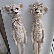 """Винтаж ручной работы. Ярмарка Мастеров - ручная работа Комплект фигурок """"Медвежата"""". Handmade."""