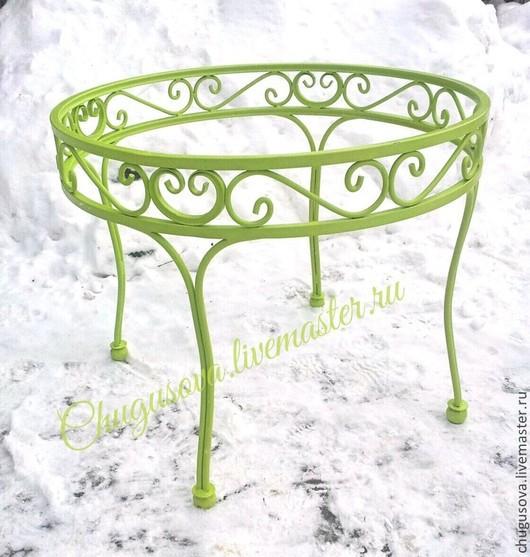 Мебель ручной работы. Ярмарка Мастеров - ручная работа. Купить Стол бешеные краски. Handmade. Стол, столовый, мебель для дачи