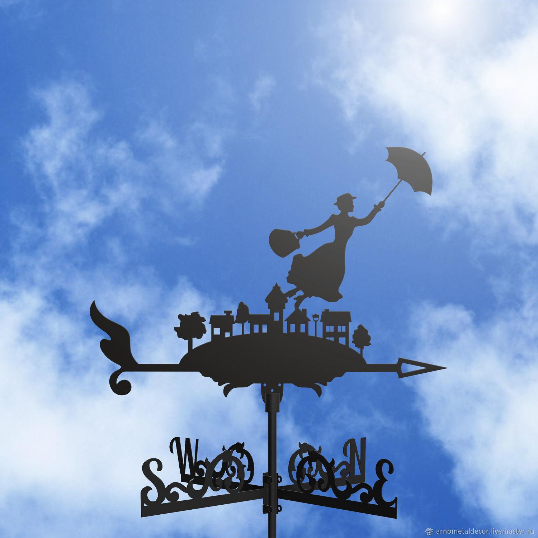 Weather vane on the roof ' Mary Poppins', Vane, Ivanovo,  Фото №1