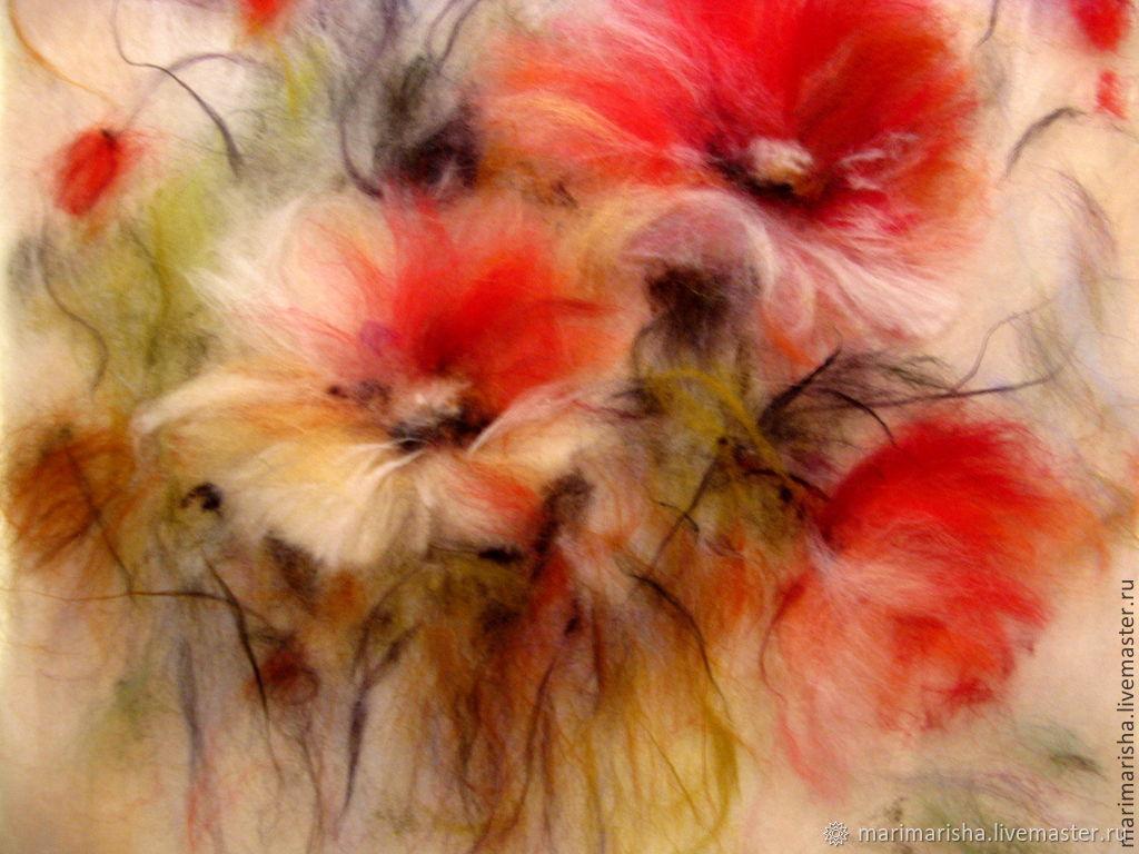 Картинки для живописи шерстью