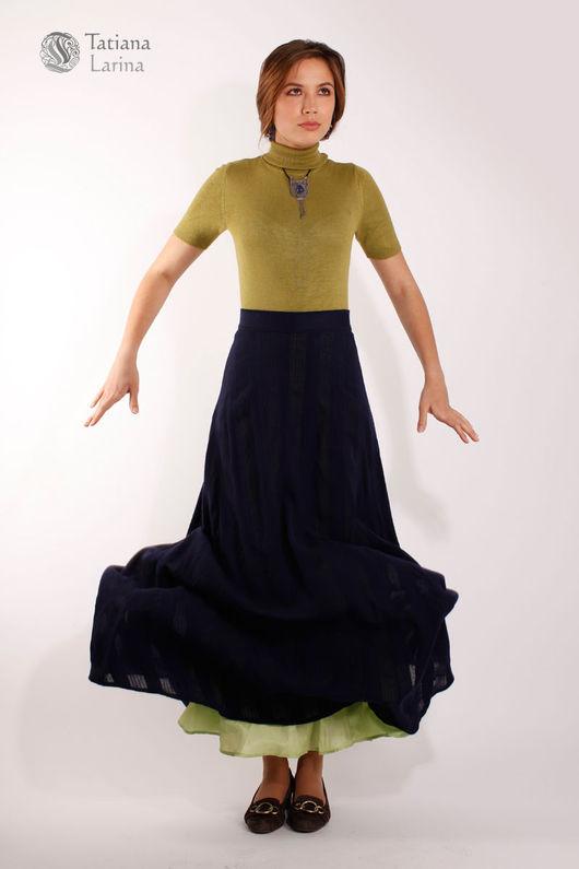 Юбка в пол из шерсти. Юбка модная. Длинная юбка на каждый день. Юбка синий зеленый. Купить юбку в Москве. Шерстяная юбка нарядная. Юбка в пол на весну.