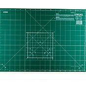 Материалы для творчества ручной работы. Ярмарка Мастеров - ручная работа Коврик OLFA 30х43см раскройный, зеленый. Handmade.
