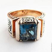 Украшения handmade. Livemaster - original item Ring: An example of the gold ring