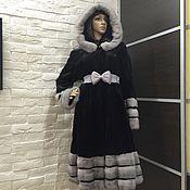 Одежда ручной работы. Ярмарка Мастеров - ручная работа Шуба норковая платье. Handmade.