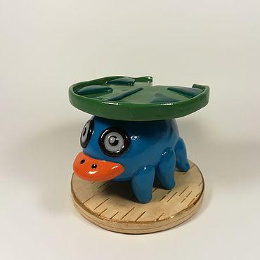 Куклы и игрушки ручной работы. Ярмарка Мастеров - ручная работа Покемон Лотад Коллекционная игрушка. Handmade.