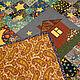 Текстиль, ковры ручной работы. Лоскутное покрывало-плед Вселенная за окном. ВесНа-таша. Интернет-магазин Ярмарка Мастеров.