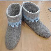 Обувь ручной работы handmade. Livemaster - original item Slippers. Handmade.
