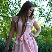 """Одежда ручной работы. Ярмарка Мастеров - ручная работа платье"""" Нежность розы"""". Handmade."""