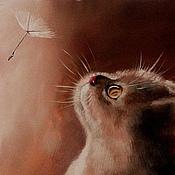 Картины и панно ручной работы. Ярмарка Мастеров - ручная работа Картина Котенок. Handmade.