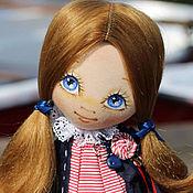 Куклы и игрушки ручной работы. Ярмарка Мастеров - ручная работа Текстильная авторская кукла Грета. Handmade.