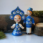 Русский стиль handmade. Livemaster - original item Dolls couples. Handmade.