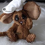 Куклы и игрушки ручной работы. Ярмарка Мастеров - ручная работа Мышонок - Поварёнок Тимошка. Handmade.