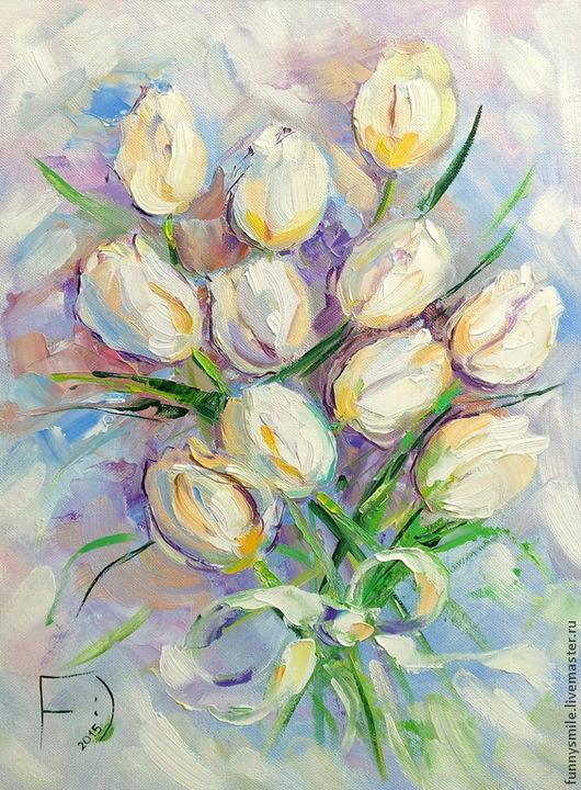 Тюльпаны-безе