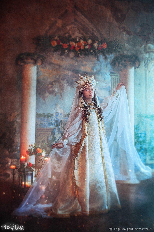 Царевна карнавальный костюм для девочки, Народные костюмы, Санкт-Петербург,  Фото №1