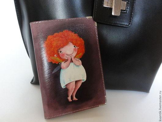 Обложка для паспорта с толстушками от Elina Ellis  Магазин волшебных феечек. FairyKalinka