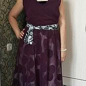 Платья ручной работы. Ярмарка Мастеров - ручная работа Шифоновое нарядное платье. Handmade.