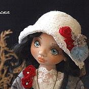 Куклы и игрушки ручной работы. Ярмарка Мастеров - ручная работа Франческа. Текстильная шарнирная кукла.. Handmade.