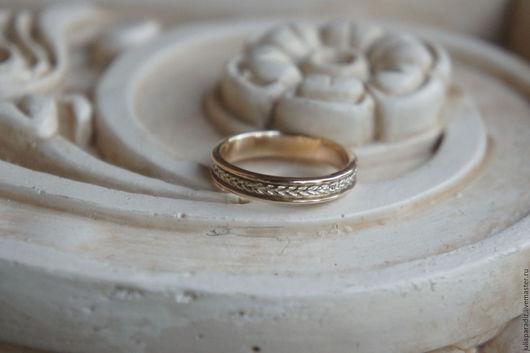 Кольца ручной работы. Ярмарка Мастеров - ручная работа. Купить Обручальное кольцо. Handmade. Золотой, свадебное украшение