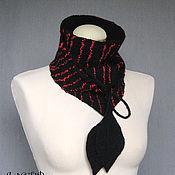 Аксессуары ручной работы. Ярмарка Мастеров - ручная работа валяный шарф-бактус LAVA. Handmade.