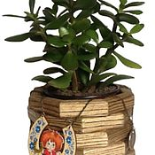 Сувениры с пожеланиями ручной работы. Ярмарка Мастеров - ручная работа Денежное дерево. Handmade.