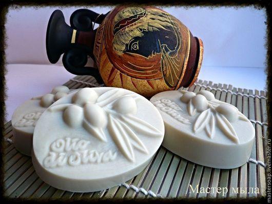 """Мыло ручной работы. Ярмарка Мастеров - ручная работа. Купить Мыло с нуля """"Кастилья"""". Handmade. Белый, кастилья, мыло с нуля"""