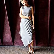 Одежда ручной работы. Ярмарка Мастеров - ручная работа Платье ASYMMETRIC NEW BEIGE. Handmade.