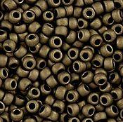 Материалы для творчества handmade. Livemaster - original item 10gr seed Beads Toho 11/0 702 dark copper Japanese seed beads TOHO Matt. Handmade.