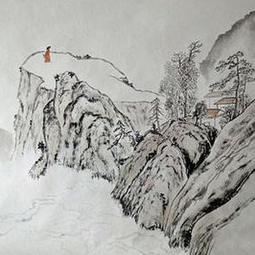 Картины и панно ручной работы. Ярмарка Мастеров - ручная работа Туманные дали. Handmade.