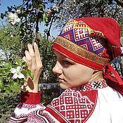 Народные костюмы ручной работы. Ярмарка Мастеров - ручная работа Чепец брянский. Handmade.