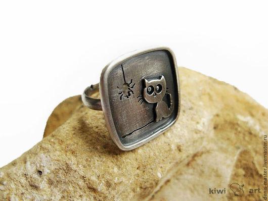 Ярмарка мастеров, кольцо из серебра ручной работы, авторское серебро, украшения из серебра, серебряные украшения, кольцо из серебра, кольцо серебро купить,
